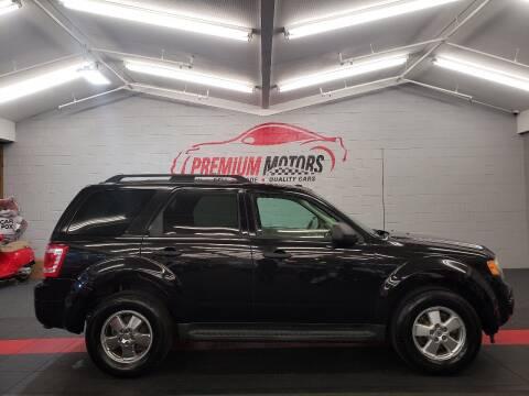 2011 Ford Escape for sale at Premium Motors in Villa Park IL