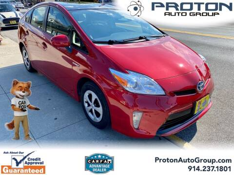 2015 Toyota Prius for sale at Proton Auto Group in Yonkers NY