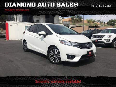 2017 Honda Fit for sale at DIAMOND AUTO SALES in El Cajon CA