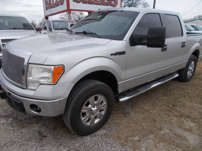 2012 Ford F-150 for sale at OTTO'S AUTO SALES in Gainesville TX