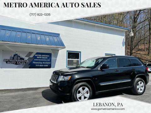 2011 Jeep Grand Cherokee for sale at METRO AMERICA AUTO SALES of Lebanon in Lebanon PA