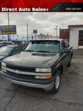 2000 Chevrolet Silverado 1500 for sale at Direct Auto Sales+ in Spokane Valley WA