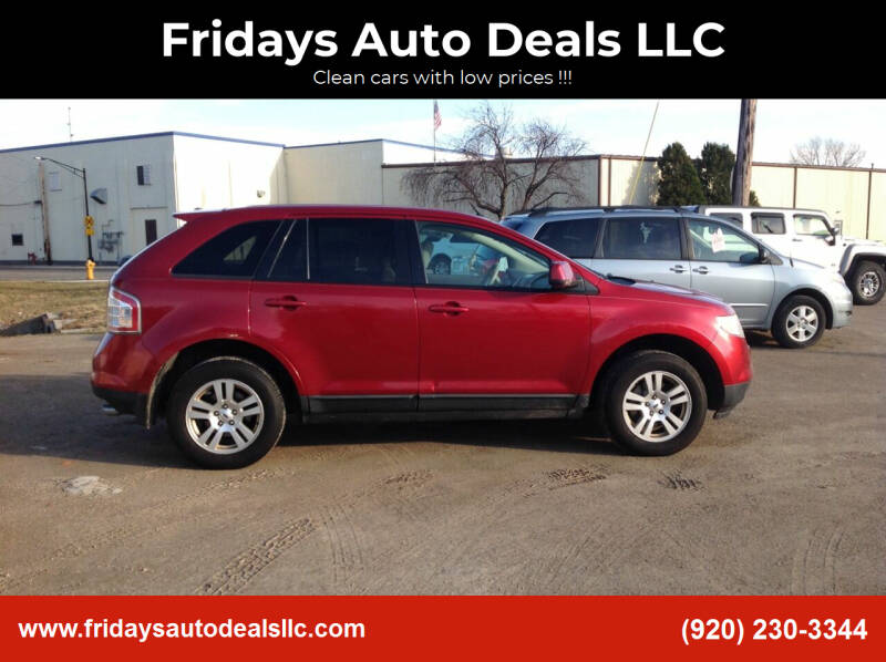 2008 Ford Edge for sale at Fridays Auto Deals LLC in Oshkosh WI