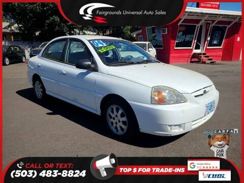2004 Kia Rio for sale at Universal Auto Sales in Salem OR