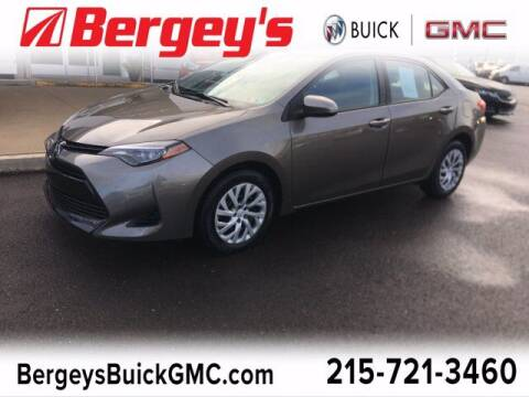 2017 Toyota Corolla for sale at Bergey's Buick GMC in Souderton PA