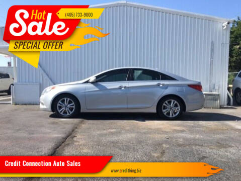 2011 Hyundai Sonata for sale at Credit Connection Auto Sales in Midwest City OK