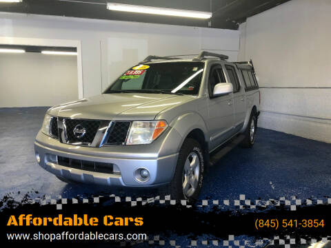2008 Nissan Frontier for sale at Affordable Cars in Kingston NY