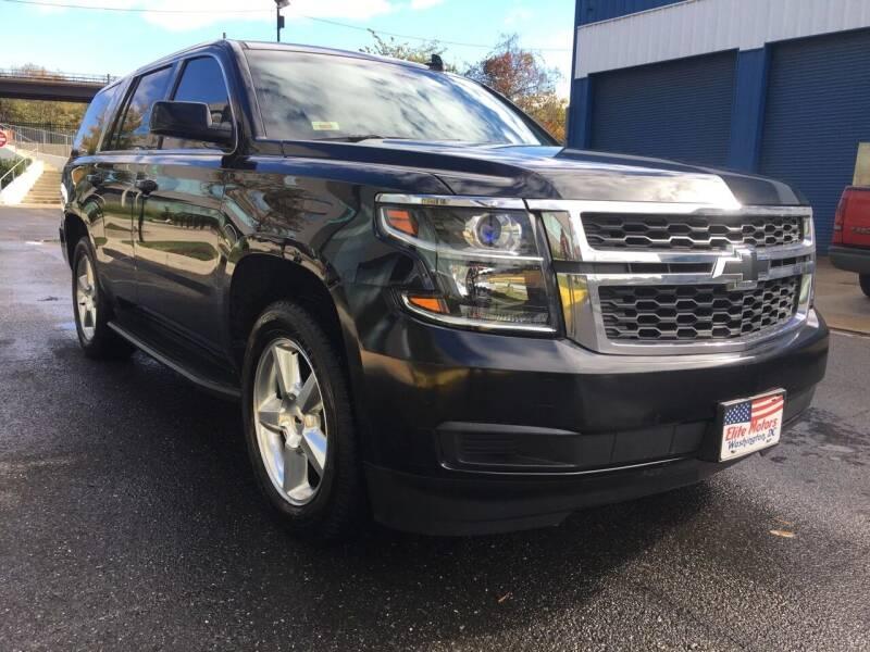 2015 Chevrolet Tahoe for sale at Elite Motors in Washington DC