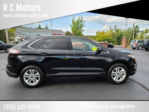 2016 Ford Edge for sale at R C Motors in Lunenburg MA