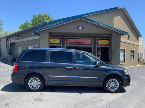 2013 Chrysler Town and Country for sale at Advantage Auto Sales in Garden City ID