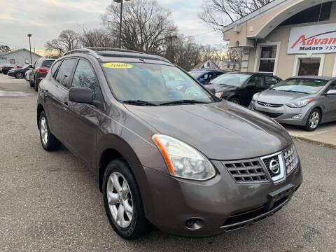 2009 Nissan Rogue for sale at Advantage Motors in Newport News VA