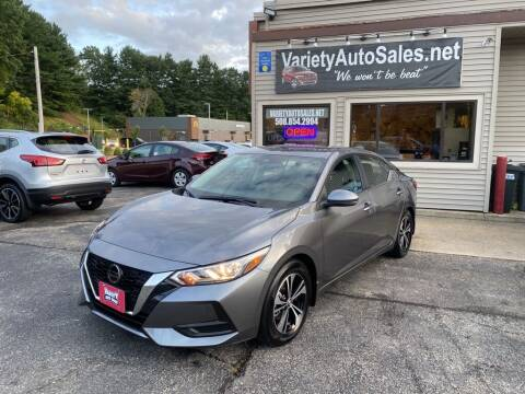 2021 Nissan Sentra for sale at Variety Auto Sales in Worcester MA