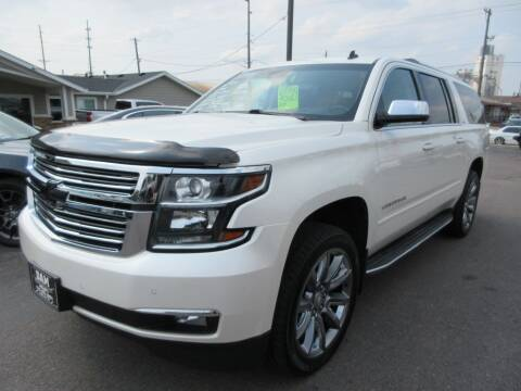2015 Chevrolet Suburban for sale at Dam Auto Sales in Sioux City IA