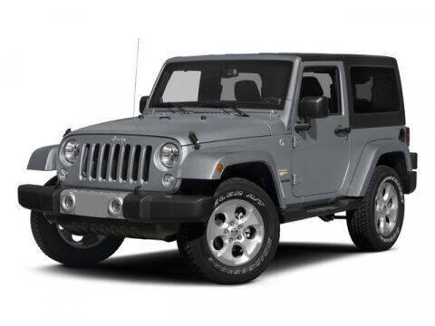 2015 Jeep Wrangler for sale at Strosnider Chevrolet in Hopewell VA