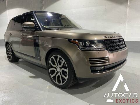 2016 Land Rover Range Rover for sale at AutoCar Exotics in Medley FL
