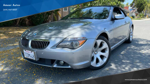 2006 BMW 6 Series for sale at Ameer Autos in San Diego CA