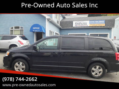 2012 Dodge Grand Caravan for sale at Pre-Owned Auto Sales Inc in Salem MA