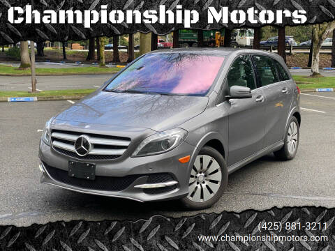 2014 Mercedes-Benz B-Class for sale at Championship Motors in Redmond WA