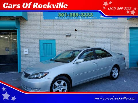 2006 Toyota Camry for sale at Cars Of Rockville in Rockville MD