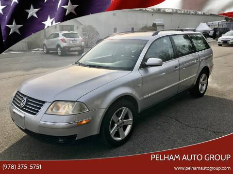 2004 Volkswagen Passat for sale at Pelham Auto Group in Pelham NH