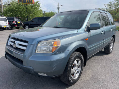 2008 Honda Pilot for sale at Diana Rico LLC in Dalton GA