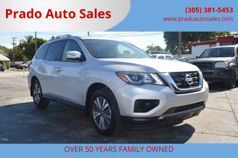 2017 Nissan Pathfinder for sale at Prado Auto Sales in Miami FL