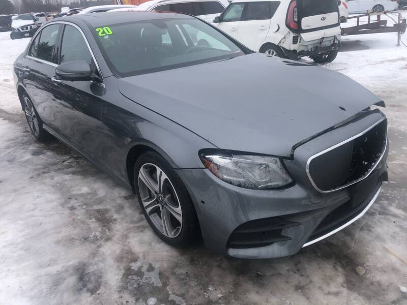 2020 Mercedes-Benz E-Class for sale at SUNSET CURVE AUTO PARTS INC in Weyauwega WI