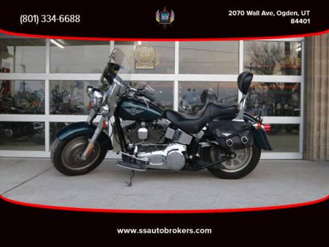 2001 Harley-Davidson FLSTF Fat Boy for sale at S S Auto Brokers in Ogden UT