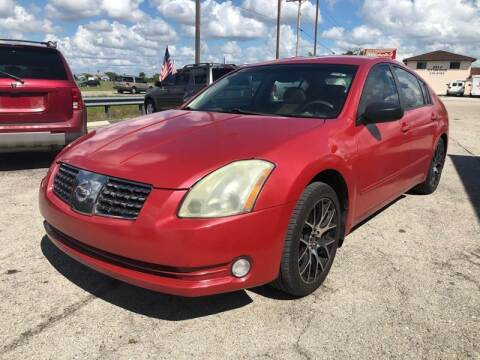 2004 Nissan Maxima for sale at EXECUTIVE CAR SALES LLC in North Fort Myers FL