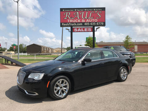 2015 Chrysler 300 for sale at RAUL'S TRUCK & AUTO SALES, INC in Oklahoma City OK