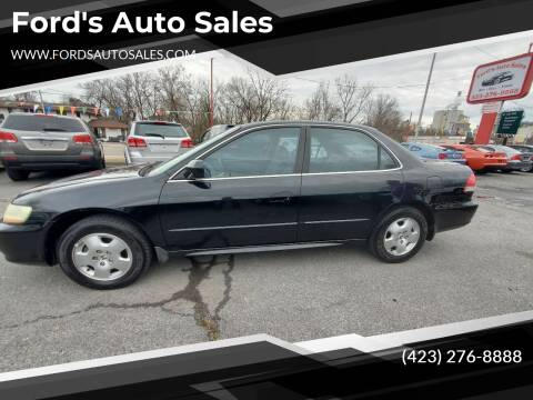 2001 Honda Accord for sale at Ford's Auto Sales in Kingsport TN