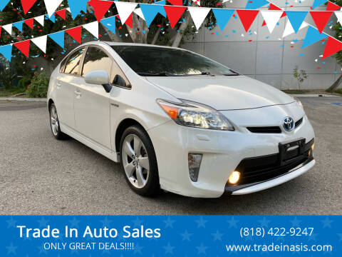 2013 Toyota Prius for sale at Trade In Auto Sales in Van Nuys CA