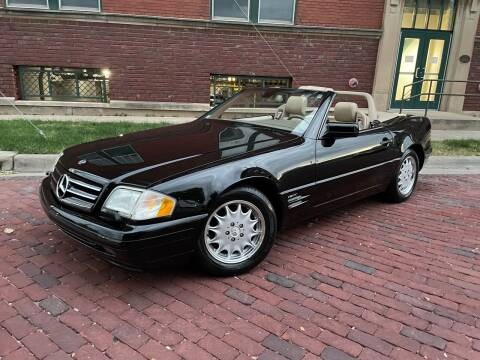 1998 Mercedes-Benz SL-Class for sale at Euroasian Auto Inc in Wichita KS