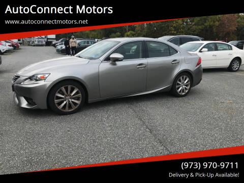 2016 Lexus IS 300 for sale at AutoConnect Motors in Kenvil NJ