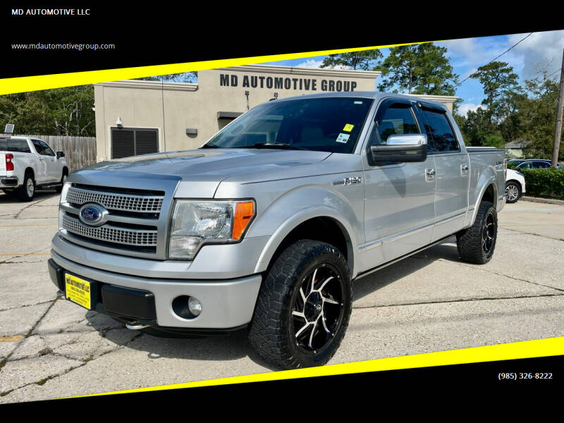 2011 Ford F-150 for sale at MD AUTOMOTIVE LLC in Slidell LA