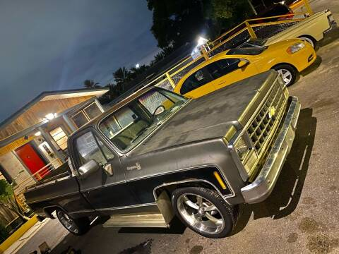 1980 Chevrolet C/K 10 Series for sale at OVE Car Trader Corp in Tampa FL
