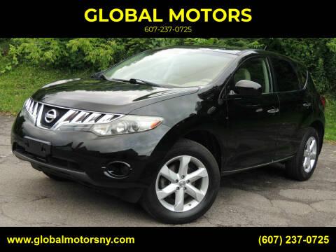 2010 Nissan Murano for sale at GLOBAL MOTORS in Binghamton NY