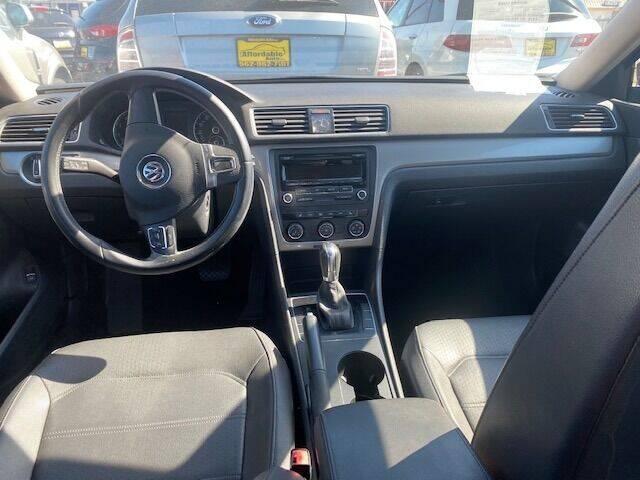 2014 Volkswagen Passat for sale at Affordable Auto Inc. in Pico Rivera CA