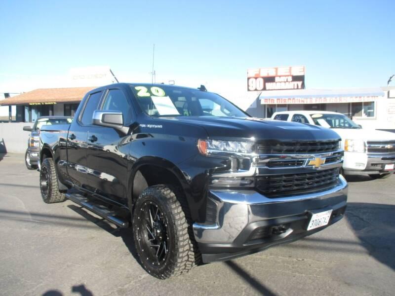 2020 Chevrolet Silverado 1500 for sale at Quick Auto Sales in Modesto CA