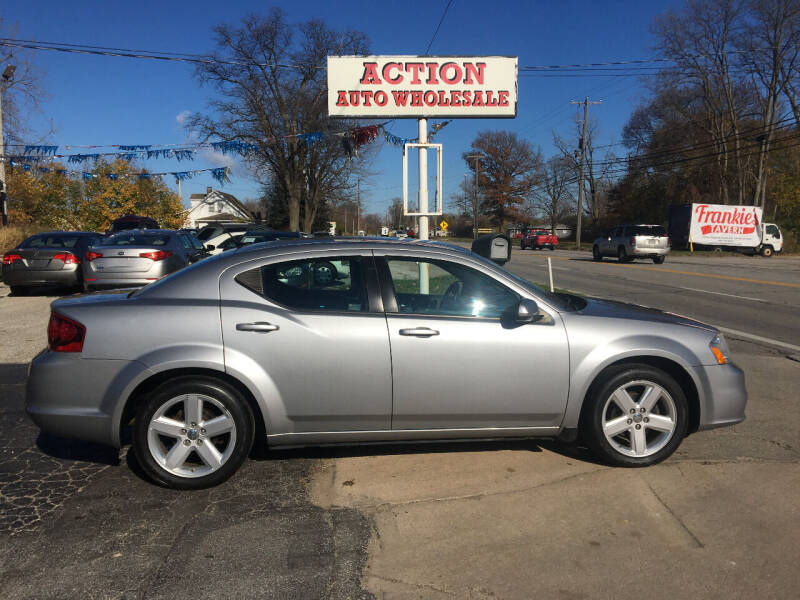 2013 Dodge Avenger for sale at Action Auto Wholesale in Painesville OH