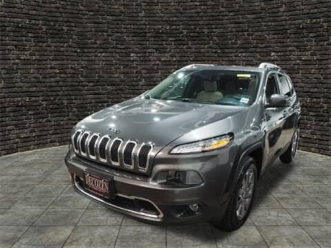 2018 Jeep Cherokee for sale at Montclair Motor Car in Montclair NJ