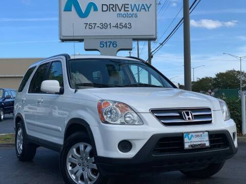 2006 Honda CR-V for sale at Driveway Motors in Virginia Beach VA