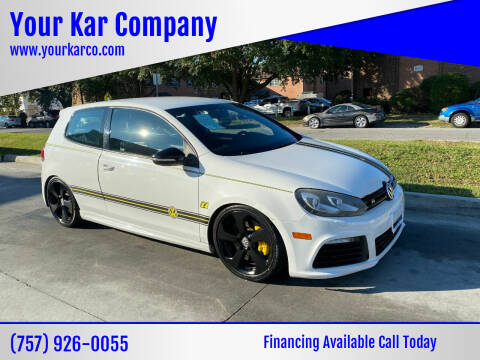 2012 Volkswagen Golf R for sale at Your Kar Company in Norfolk VA