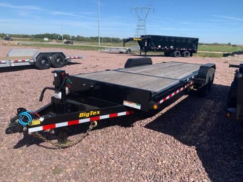 2021 Big Tex 16TL-22 Split Tilt #7801 for sale at Prairie Wind Trailers, LLC in Harrisburg SD