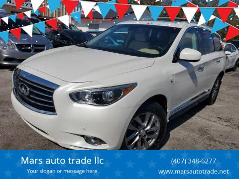 2015 Infiniti QX60 for sale at Mars auto trade llc in Kissimmee FL