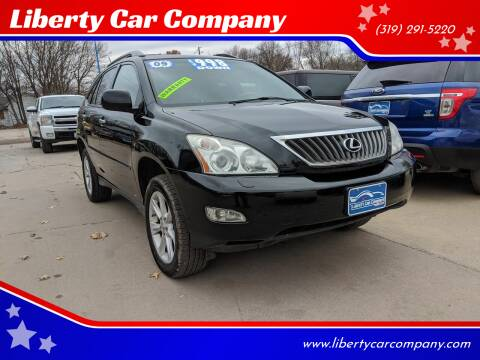 2009 Lexus RX 350 for sale at Liberty Car Company in Waterloo IA