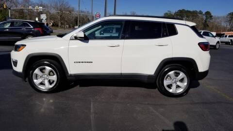 2017 Jeep Compass for sale at Whitmore Chevrolet in West Point VA