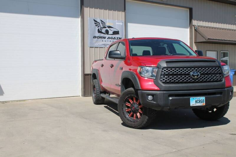 2019 Toyota Tundra for sale at Born Again Auto's in Sioux Falls SD