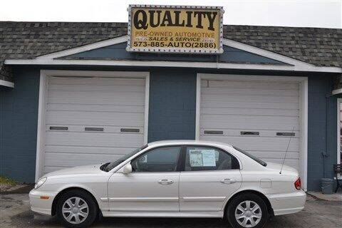 2002 Hyundai Sonata for sale at Quality Pre-Owned Automotive in Cuba MO