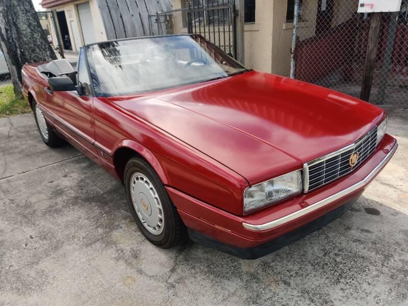 1990 Cadillac Allante for sale at Advance Import in Tampa FL